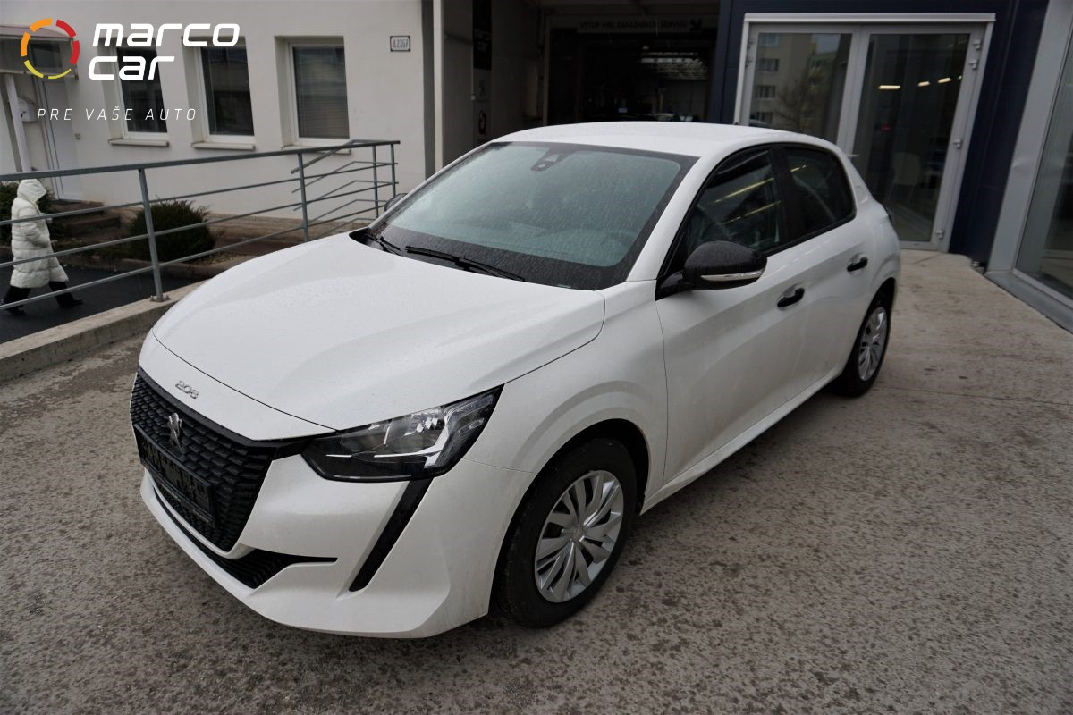 Peugeot 208 new biely
