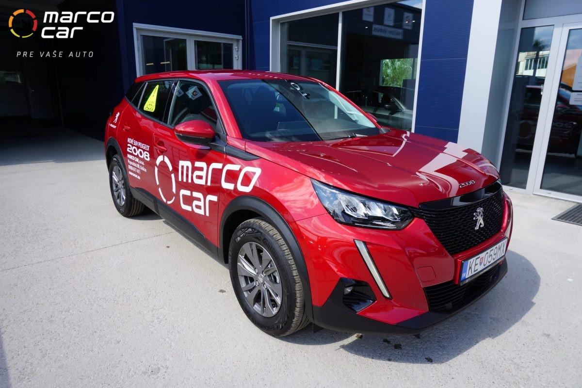 Peugeot 2008 new – červený