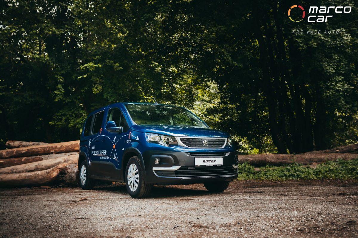 Peugeot Rifter modrý