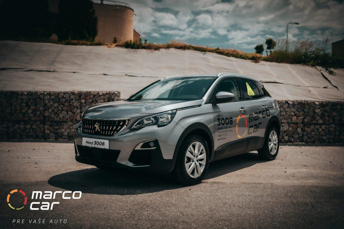Peugeot 3008 sivý
