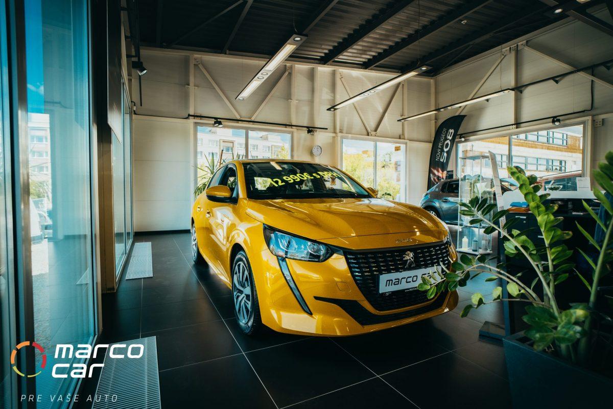 Peugeot 208 new žltý