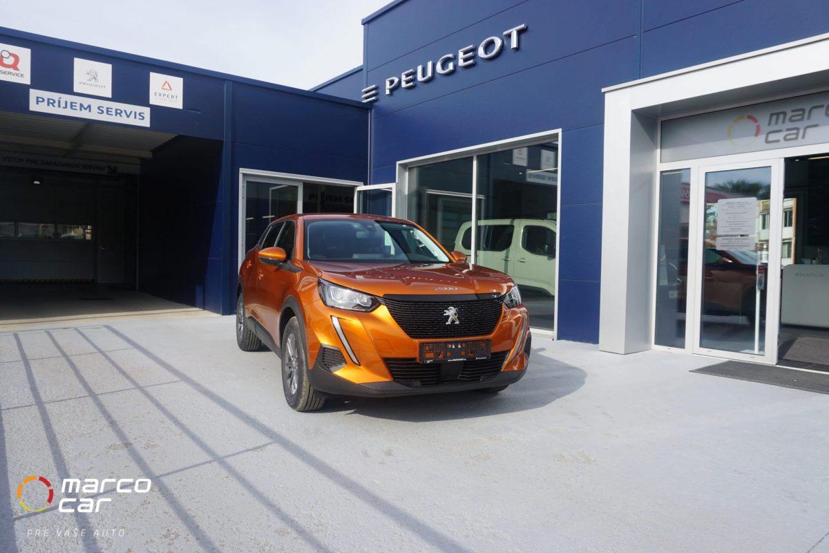 Peugeot 2008 NEW ACTIVE 1.2 PureTech 130k EAT8 (EURO 6d-ISC) – oranžová