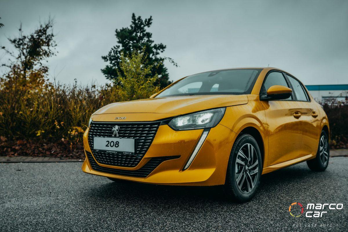 Peugeot 208 NEW ALLURE 1.2 PureTech 100k EAT8 (EURO 6d-ISC) – žltý