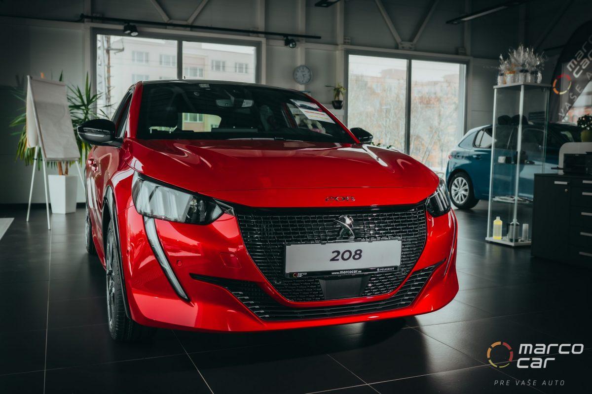 Peugeot 208 MY21 GT 1.2 PureTech 100k EAT8 (EURO 6d-ISC-FCM) – červená GT elixir