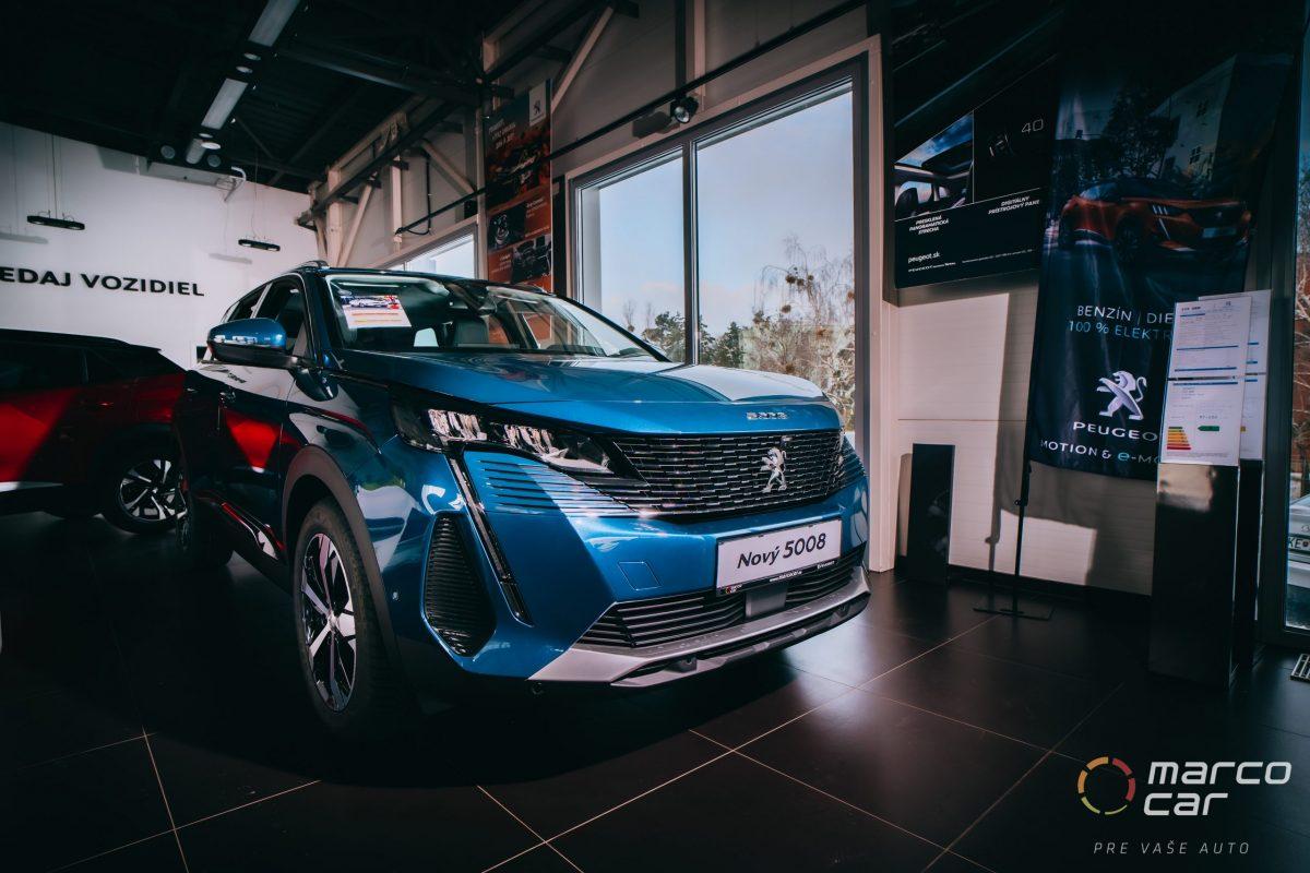 Peugeot 5008 NEW ALLURE PACK 1.5 BlueHDi 130k EAT8 – modrá