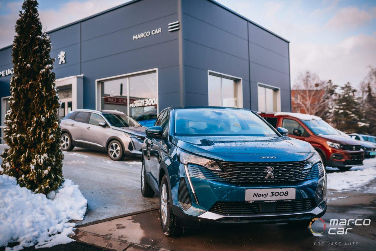 Peugeot 3008 NEW ACTIVE PACK 1.2 PureTech 130k BVM6 EURO – modrá
